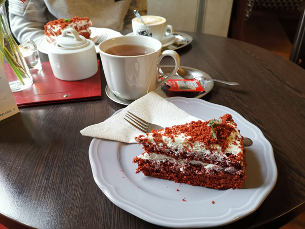 Cafe Hradek Cesky Krumlov