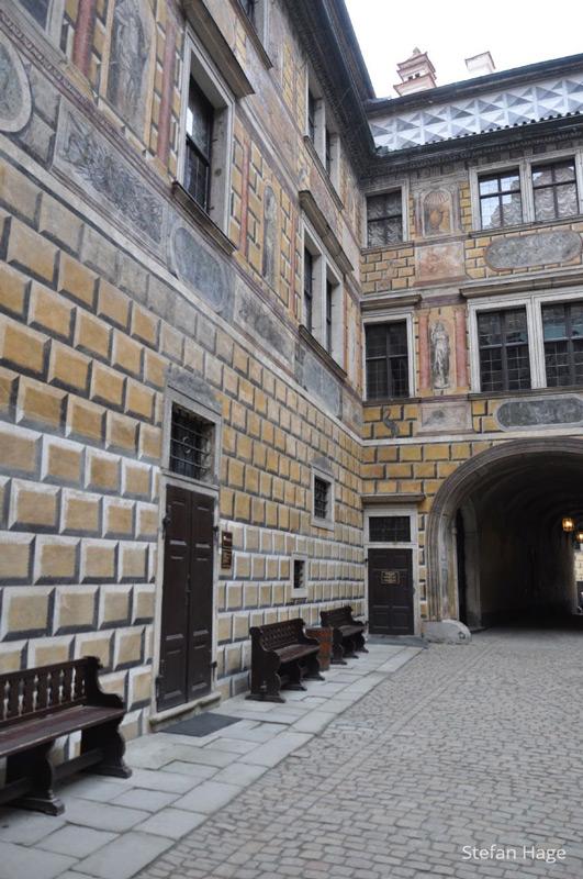 Cesky Krumlov kasteel