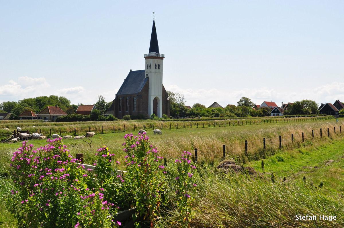 Den Hoorn Texel witte kerkje