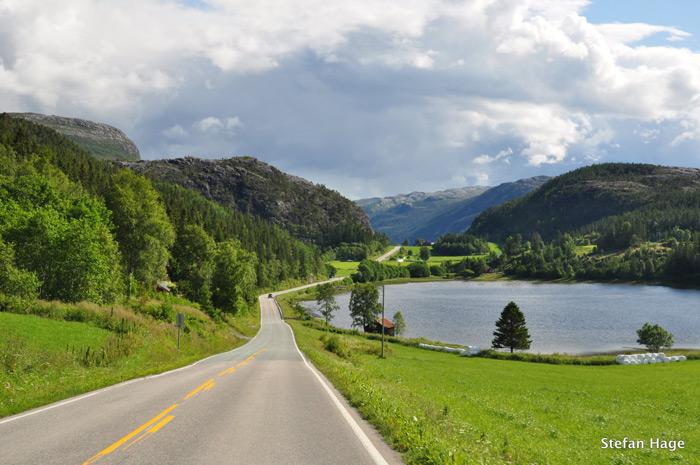 Route Noorwegen Steinkjer