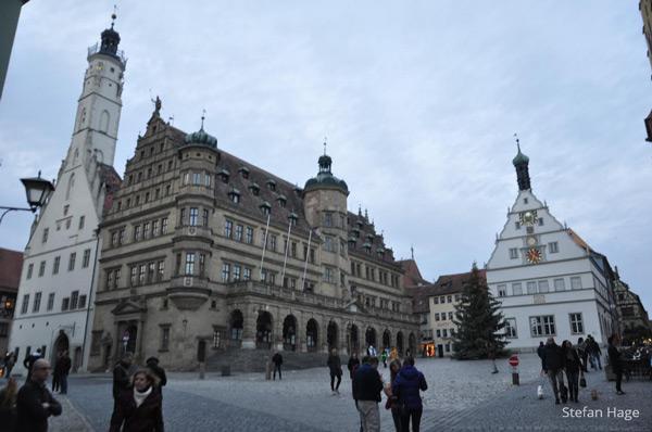 Rothenburg ob der Tauber Marktplatz