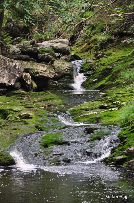 La Hoëgne waterval
