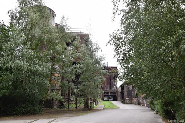 Verlaten fabriek Duitsland