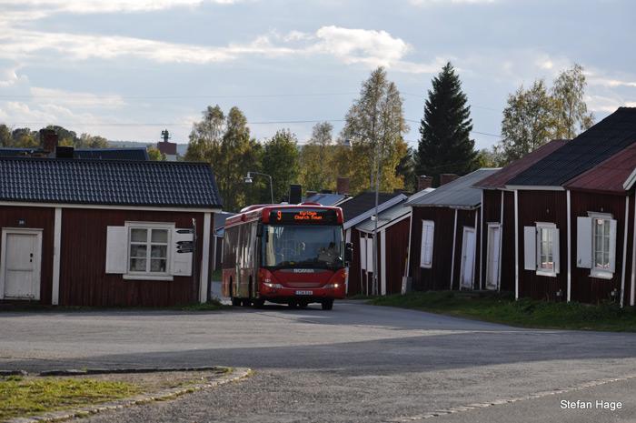 Gammelstad bus