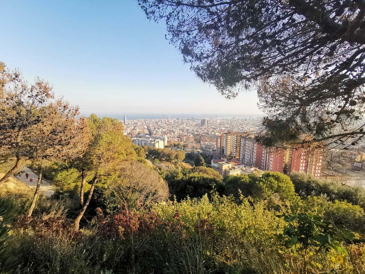 Parc del Guinardo - Bunkers del Carmel