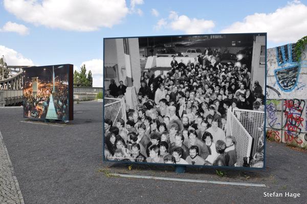 Berlijn Platz des 9 november 1989