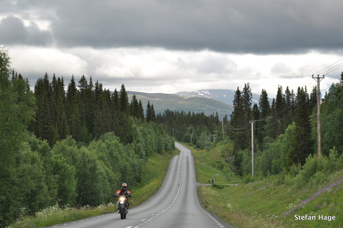 Autoroute Jamtland Zweden