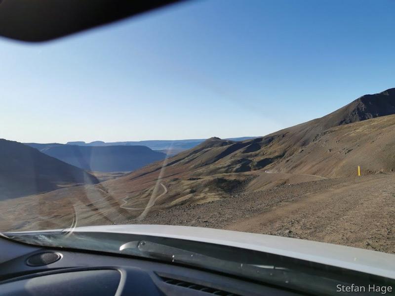 Iceland Westfjord road