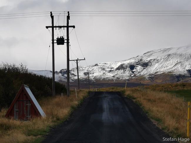 Brúarfoss weg
