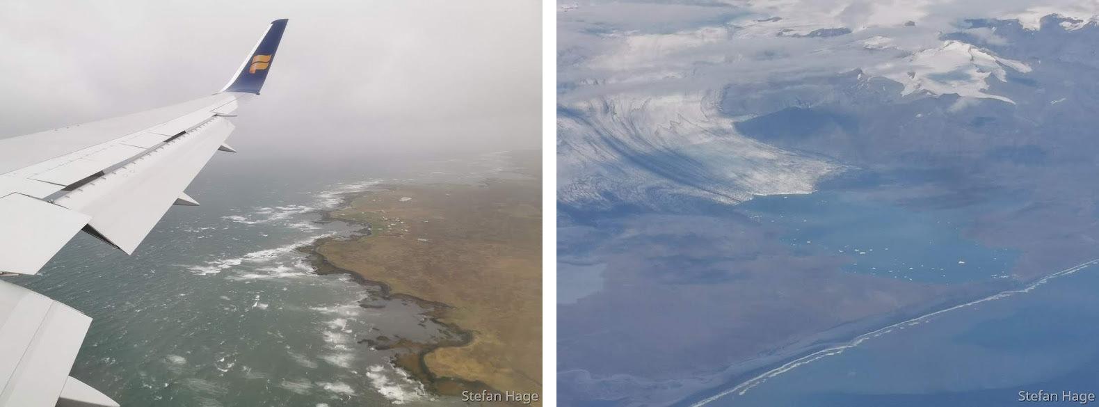 Icelandair vlucht IJsland