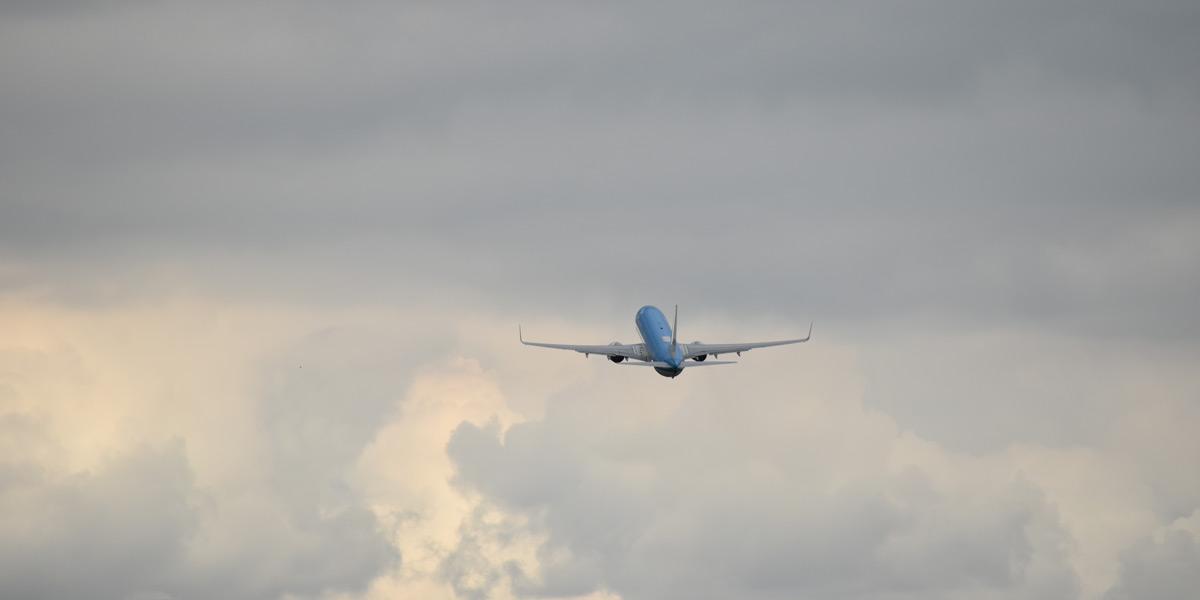 Vliegtuig Schiphol h
